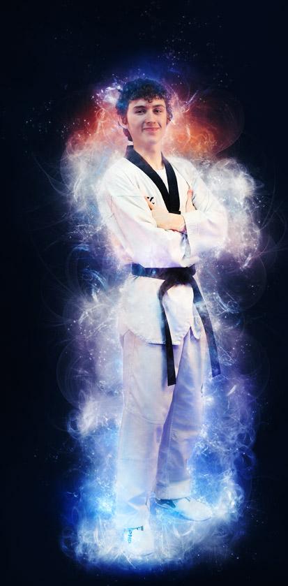 Master Noah Brown Five Rings TaeKwonDo Kitchener